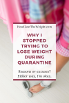 Quarantine Weight Gain